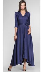 Платье длинное на пуговицах Pallari