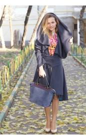 Пальто с шалевым воротником Франция
