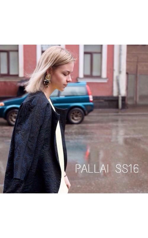 Пальто летнее жаккард Pallari
