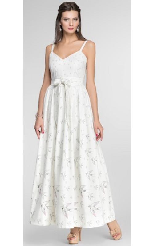 Платье длинное ласточки Pallari