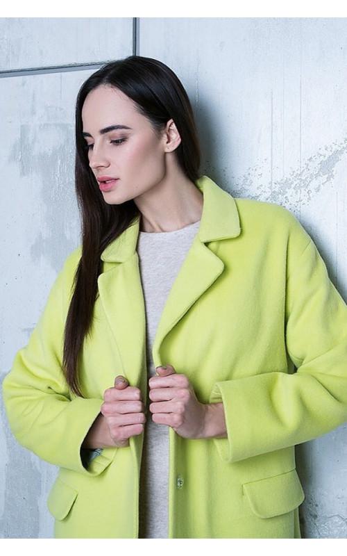 Элегантное итальянское пальто