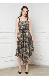 Платье-сарафан с репсовыми лямками