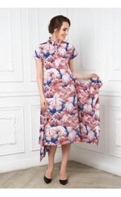 Платье-трансформер с расклешенным низом