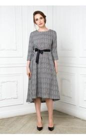 Платье-туника расклешенная