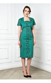 Платье-футляр с жакетом
