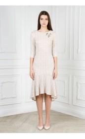 Платье ассиметричная длина (с блеском)