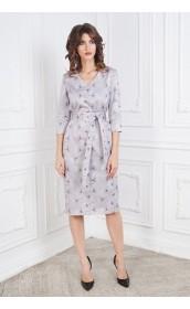 Платье прямое одуванчики