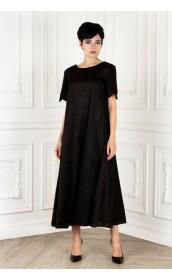 Платье широкое с блеском