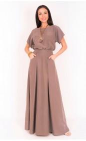 Платье длинное со свободным верхом