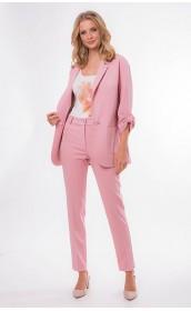 Пиджак розовый