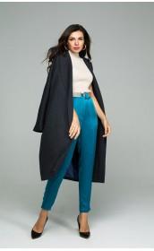 Пальто - халат из высококачественной итальянской шерсти