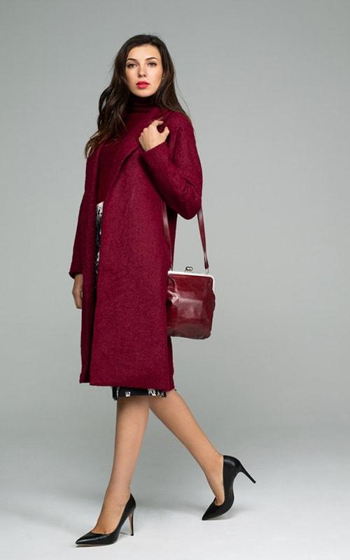 Пальто халат без карманов