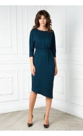 Платье с ассимитричным низом