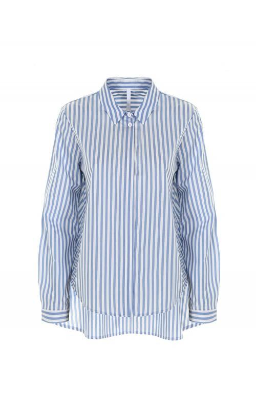 Рубашка удлиненная сзади