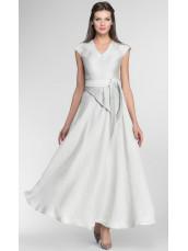 Длинное платье с декоративной деталью pallari
