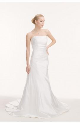 Свадебное платье спокойного А-силуэта
