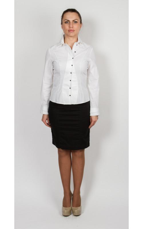 Блуза белая DIFFERENCE Paris
