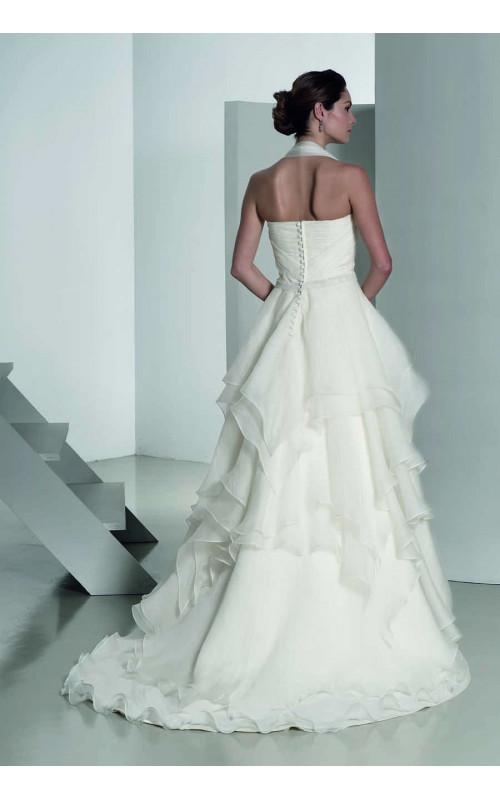 Свадебное платье легкое А-силуэта