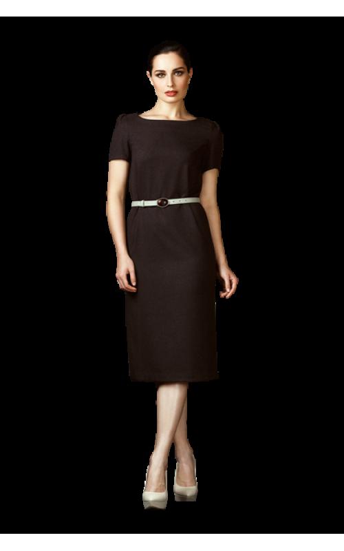Платье-футляр с коротким рукавом pallari