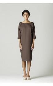 Платье зауженное прямое pallari