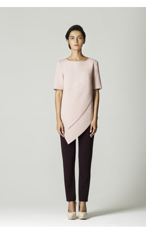 Блуза с лепестами pallari