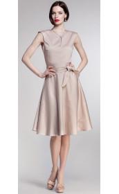 Платье с юбкой солнцеклеш