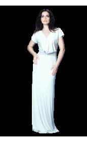 Платье трикотажное длинное pallari